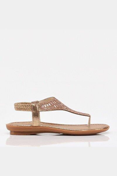 Gül Kurusu Yaya Kadın Sandalet & Terlik