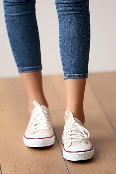 Unisex Bej Ayakkabı