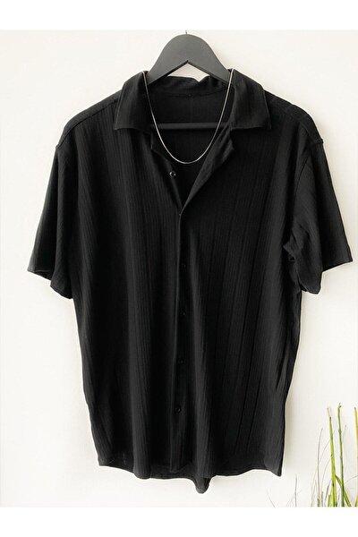 Erkek Yazlık Kısa Kollu Gömlek