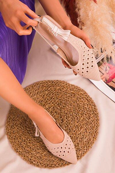 Ten Kadın Sandalet 16111