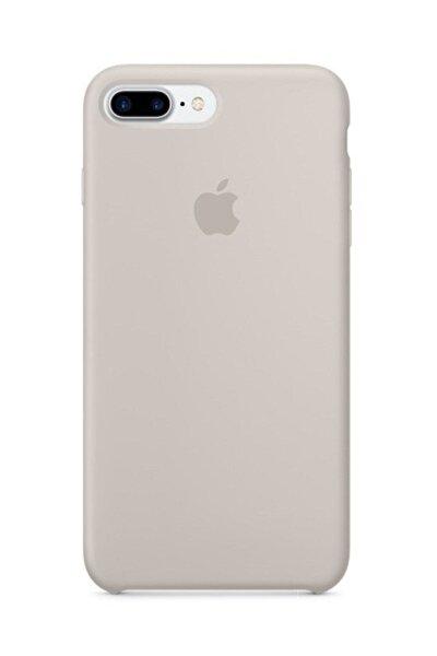 Iphone 7 Plus 8 Plus Silikon Taş Rengi Kılıf