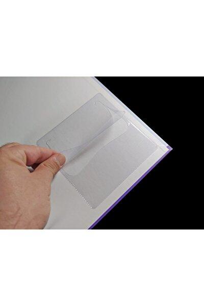 Plastik Cd Zarfı, Arkası Yapışkanlı, Şeffaf, 13x13 Cm, 100 Adet