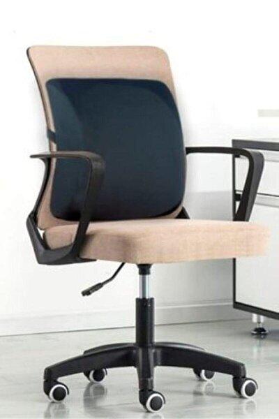 Lüx Ortopedik Sırt Minderi Araç Koltuk Sandalye Bel Yastığı Bel Desteği Bel Minderi