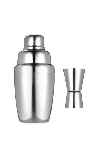 Biradlı Paslanmaz Çelik Shaker 700 Cl Ve 4/2 Cl Jıgger Paslanmaz Çelik