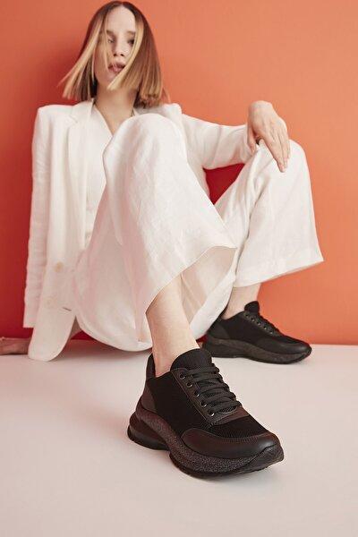 Siyah Kadın Sneaker 01AYY209250A100