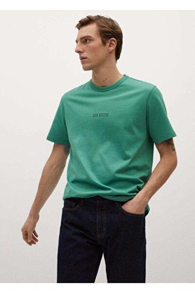 Yazılı Organik Pamuklu Tişört