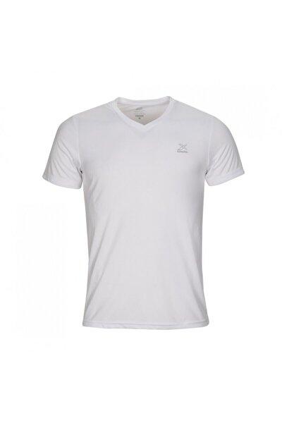 SN222 BASIC V NECK T-SHIR Beyaz Erkek T-Shirt 100581582