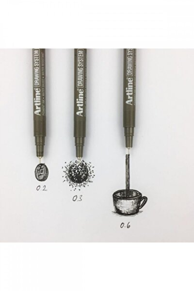 Drawing 3lü Set 0.2-0.3-0.6mm