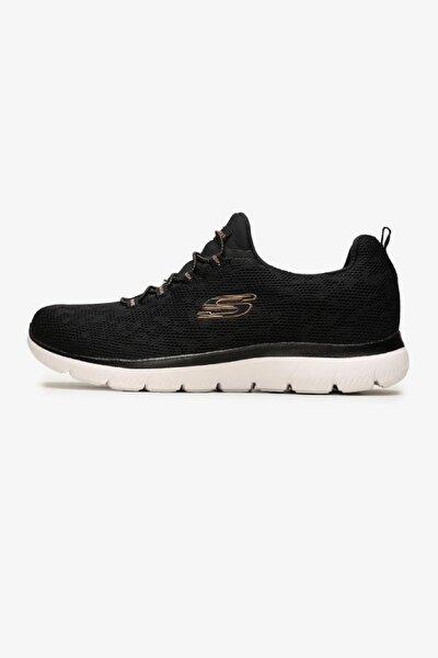 SUMMITS - LEOPARD SPOT Kadın Siyah Spor Ayakkabı