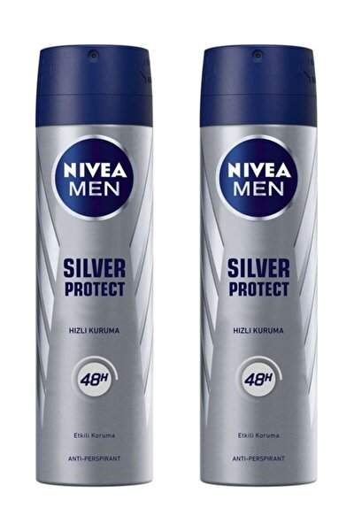 Deodorant Sprey Silver Protect 150ml Erkek 2 Adet