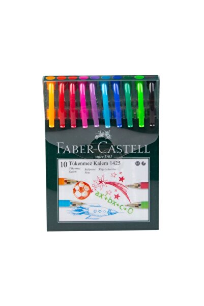Iğne Uçlu Tükenmez Kalem Seti 10 Renk 0.7mm
