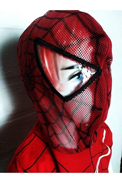 Maskeli Kapşonlu Tişört +kapri Şort Takım