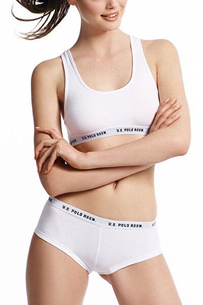 Kadın 3'Lü Lacivert Fuşya Beyaz Şort U.S 01.66115