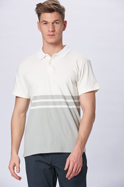 Erkek Jersey SS Polo Yaka T-shirt 73627-0003