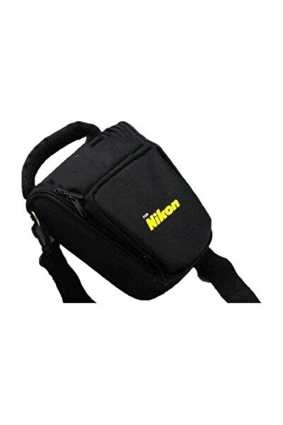 Haskan Nikon D3100 Fotoğraf Makinesi İçin Profesyonel Üçgen Çanta