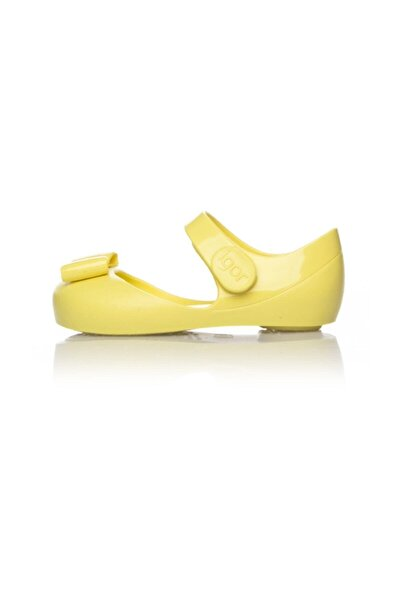 S10167 Mia Lazo Sarı Kız Çocuk Sandalet 100346711
