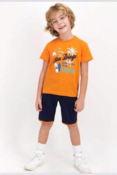 Erkek Çocuk Turuncu Takım  822-g