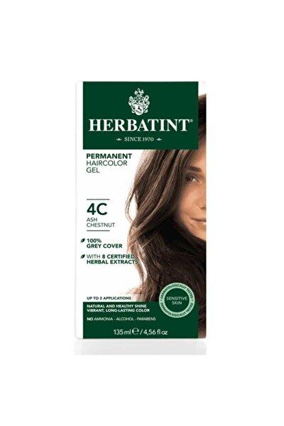 Kalıcı Bitkisel Saç Bakım Boyası - 4c Ash Chestnut Kül Kestane 150 ml 8016744500258