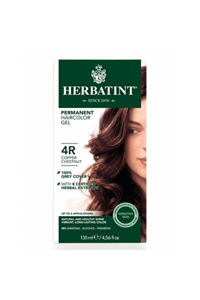 Kalıcı Bitkisel Saç Bakım Boyası - Copper Chestnut 4R Bakır Kahverengi 150 ml 8016744500197