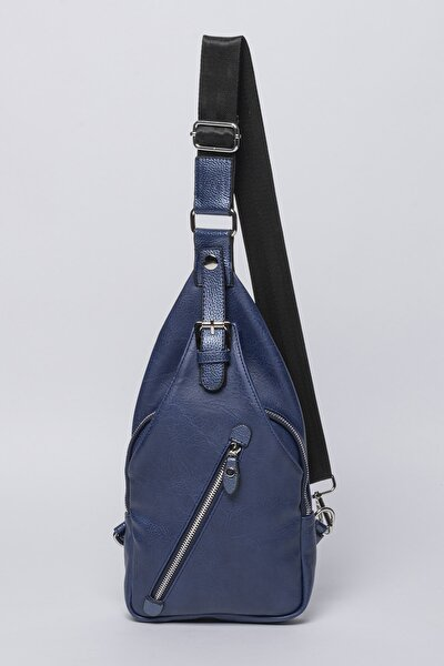 Kadın Mavi Body Bag Bel Çantası