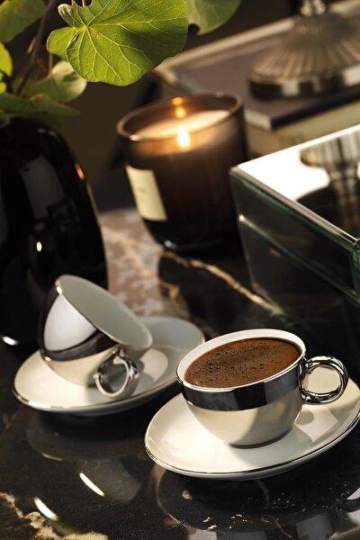 Zeugma Kahve Takımı Platin Kaplama