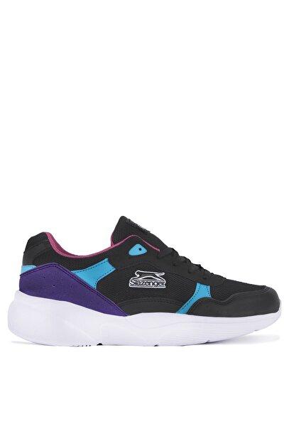Inka Sneaker Kadın Ayakkabı Siyah / Mavi