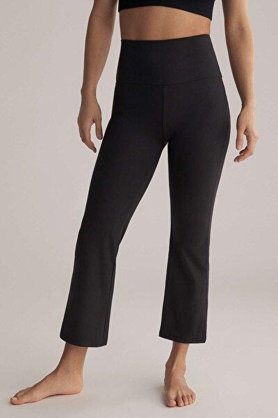 Comfort Crop Flare Pantolon