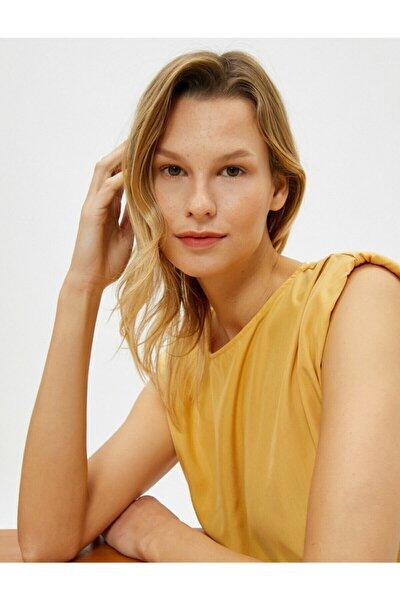 Kadın Sarı Bluz