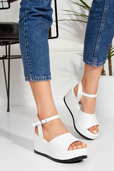 Sloan Sandalet Beyaz-tnr0300