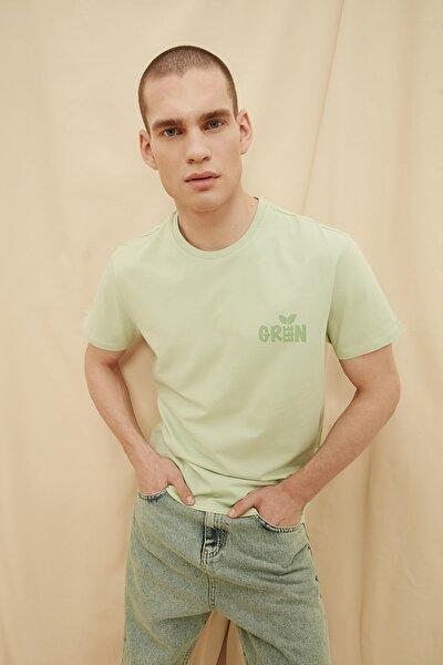 Mint Erkek %100 Organik Pamuk Regular Fit T-Shirt TMNSS21TS1449
