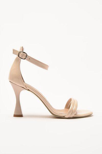 Bej Kadın Sandalet 01SAY209060A310