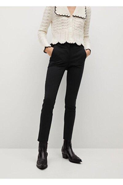 Kısa Paçalı Skinny Pantolon