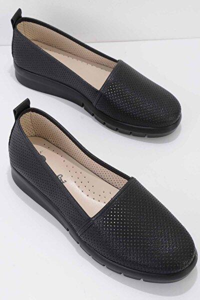 Siyah Kadın Sneaker K01586038109