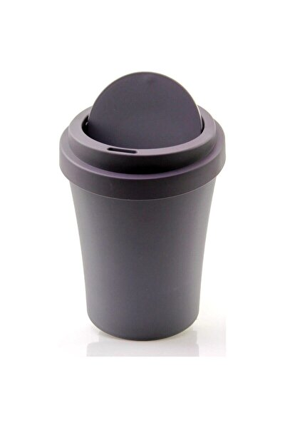 Plastik Masaüstü Mini Çöp Kovası Kutusu Soft Renkli 2 lt