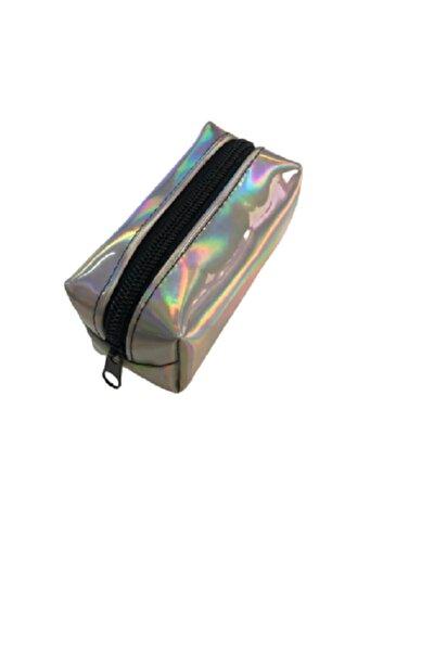 Kadın Gümüş Mini El Cüzdanı Çantası