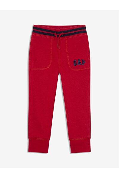 Erkek Bebek Kırmızı Logo Jogger Eşofman Altı