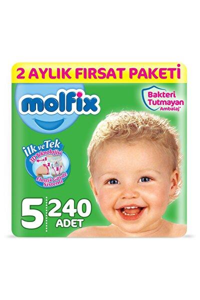 Bebek Bezi 5 Beden Junior 2 Aylık Fırsat Paketi 240 adet