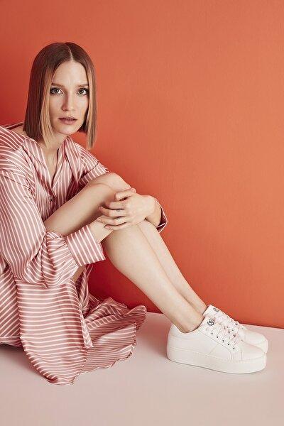 Beyaz Kadın Sneaker 01AYY207270A900