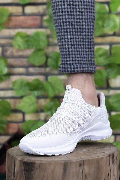 Beyaz Beyaz Erkek Sneaker 0012180