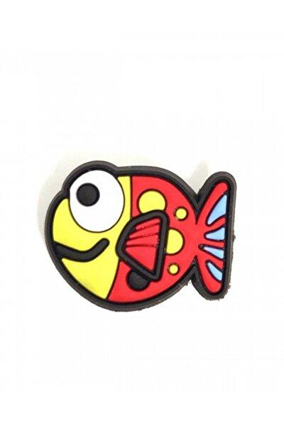 Jibbitz Terlik Süsü Turuncu Balık