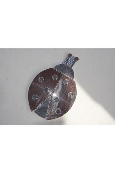 Mermer Mozaik Uğur Böceği 13×20 cm