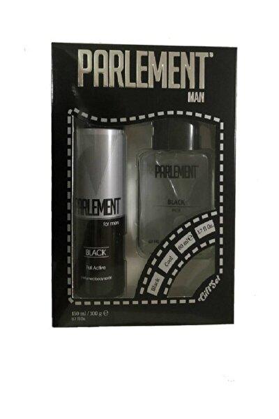 Black Erkek Parfüm Set