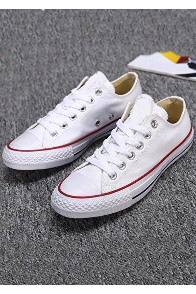 Unisex Beyaz Spor Ayakkabı Cnverce