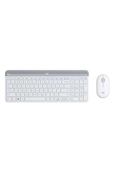 920-009436 Mk470 Beyaz Kablosuz Klavye Mouse Seti