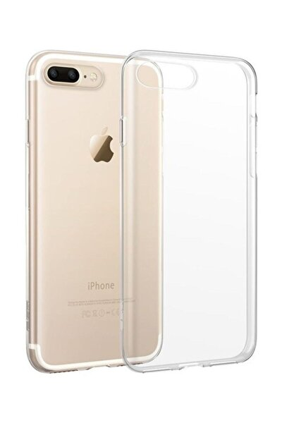 Iphone 7 Plus - Iphone 8 Plus Şeffaf Silikon Kılıf Nf-ip7-plus