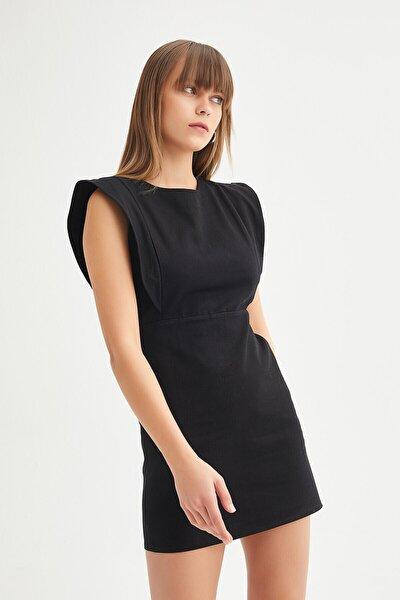 Kadın Siyah Kalem Elbise