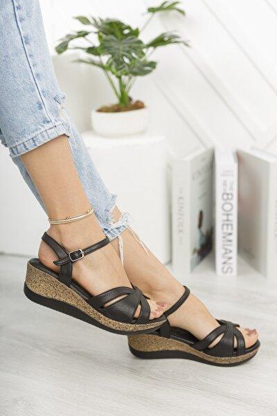 Madison Yazlık Dolgu Tokalı Kadın Sandalet