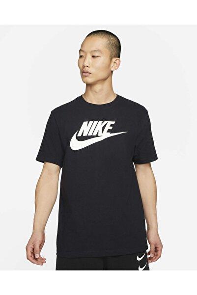 BV0622-010 Sportswear Siyah Unisex T-shirt