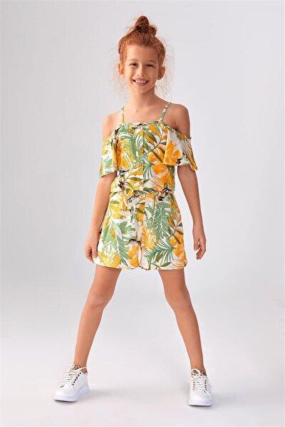 Kız Çocuk Ekru Takım 21ynk16010