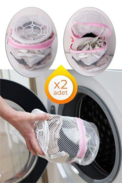 2 Adet Fermuarlı Sütyen/çamaşır Yıkama Filesi- 2 Adet